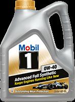 Моторное масло мобил 1 0w40